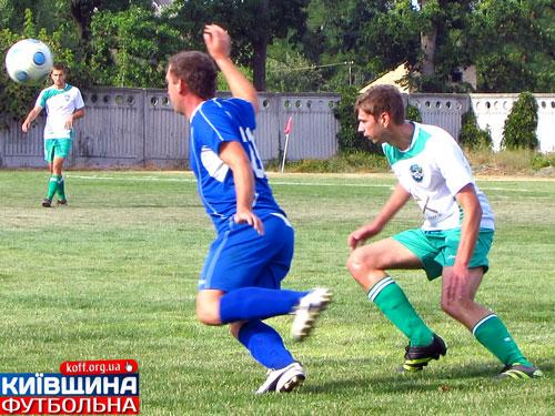 Центральний матч у чемпіонаті Бородянщини